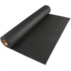 Plyometric Rubber Roll 8 mm 4x10 ft Black