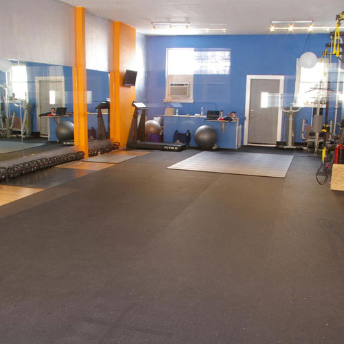 Plyometric Rolled Rubber 3 8 Inch Plyorobic Gym Flooring