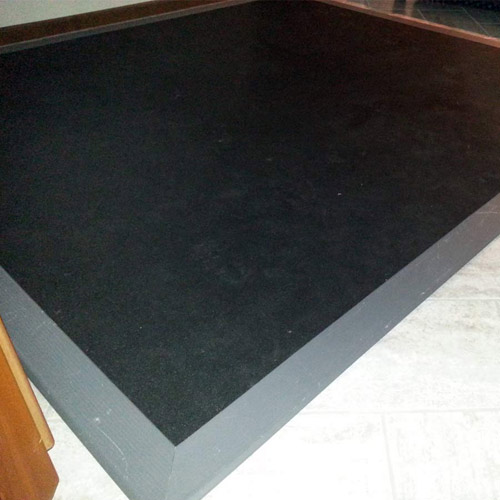 Plyometric Rubber Roll 3/8 Inch customer photo.