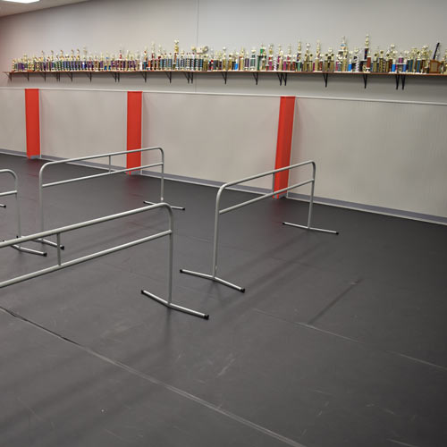 Portabarre Portable Ballet Barre Dance Studio Flooring 9ft With Case