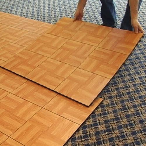 Portable wood floor mat gurus floor for Wood floor mat