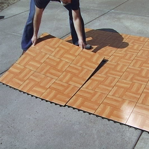 Portable Outdoor Flooring : Tap dance floor kit flooring board like