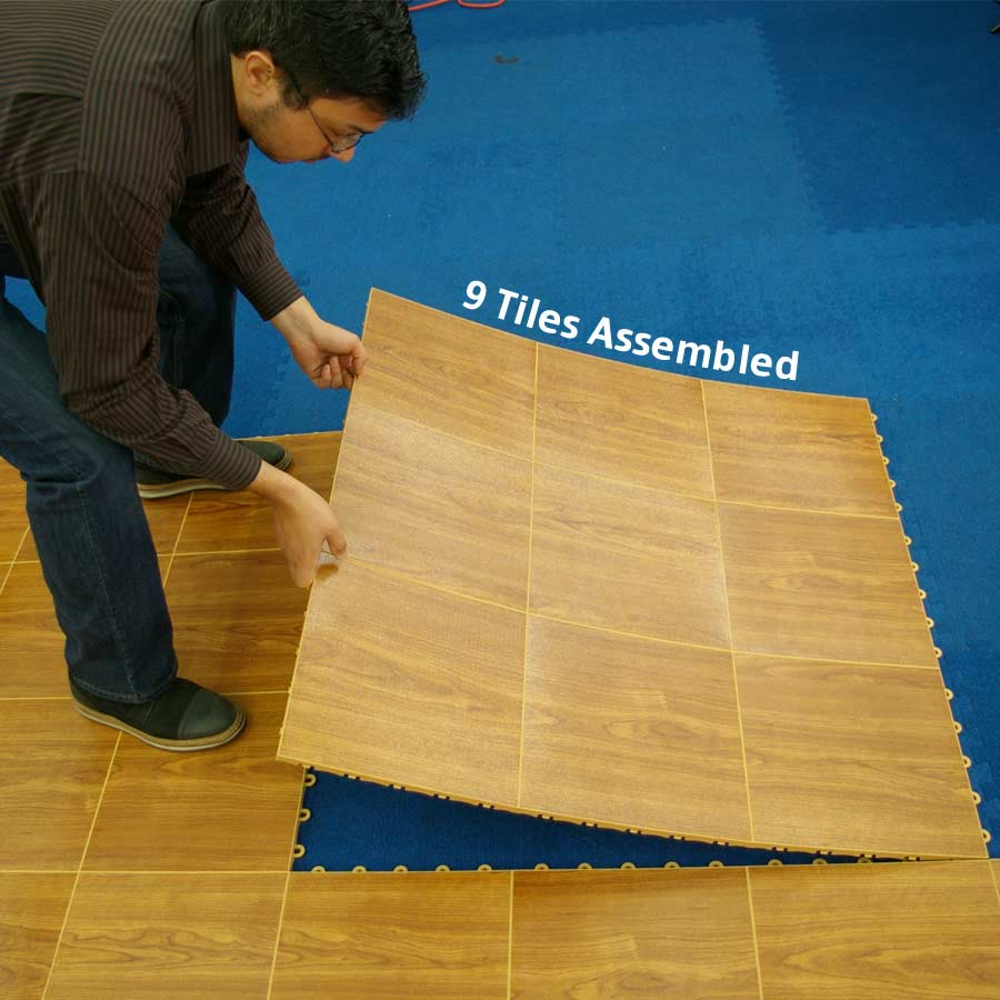 Dance Flooring Over Carpet Temporary Floor Diy