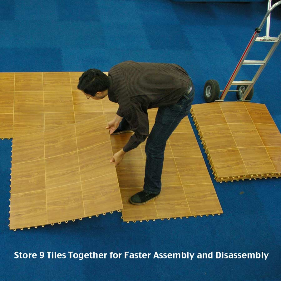 100 4 Snaplock Dance Floor Uk Flooring Cam