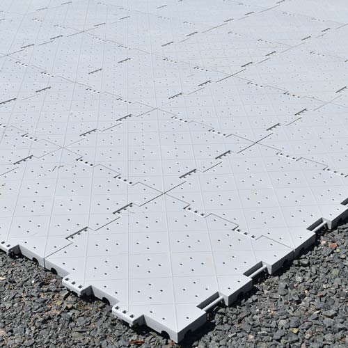 How To Install Portable Outdoor Tiles Video Instructions