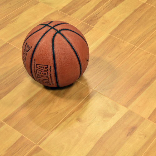 Modular Basketball Court Tiles For Indoors And Outdoors