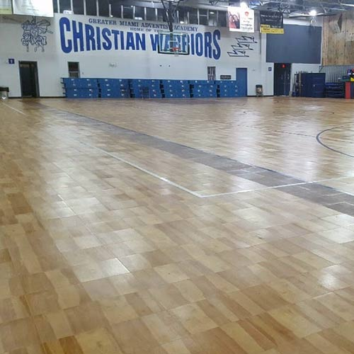 Basketball Court Tiles Diy Indoor Gym