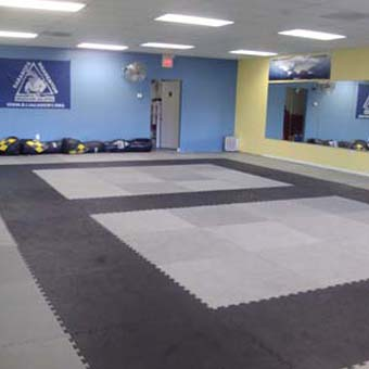 Grappling MMA mats features a tatami surface texture
