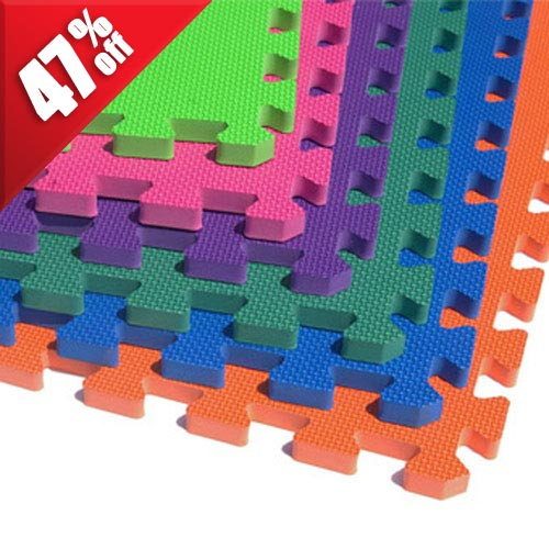Foam Floor Mats 5/8 Premium sale