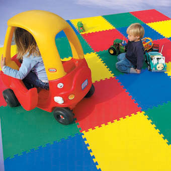 5/8 Foam Mats 5/8 for kids rooms