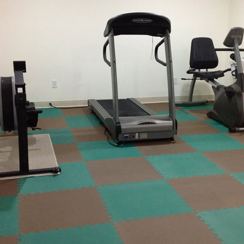 Home Gym Flooring Over Concrete Ideas