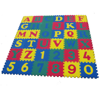 1 In Martial Arts Flooring Tiles Rubber Play Mats Play