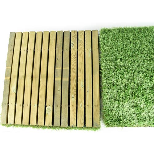Outdoor Deck Turf Tile top.