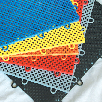Garage Floor Tiles Auto Perforated