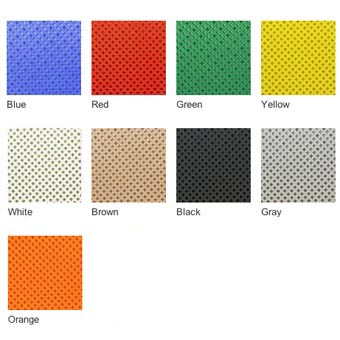 Garage Floor Tiles Auto Perforated Colors