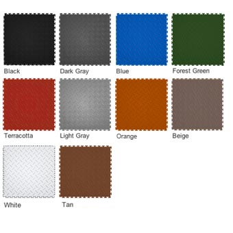 Modular Garage Floor Diamond Grid Modular Garage Floor
