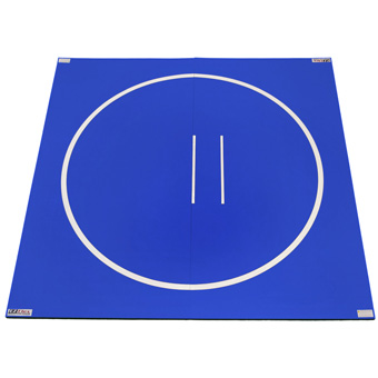 Wrestling Mats Lite Royal Blue