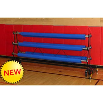 Gym Floor Covers rack