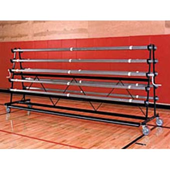 Gym Floor Covers safety storage rack standard