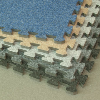 Interlocking Carpet Tile Royal All