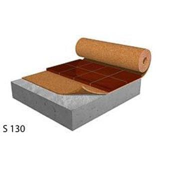 Floor Underlayment Cork Rubber Sound Acoustical
