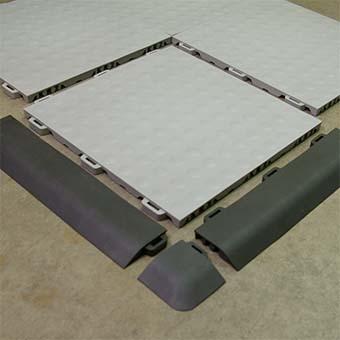 Aerobic Ergonomic Flooring Staylock Bump Floor Tile