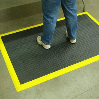 Modular Flooring Tiles Staylock Bump Top Ergonomic