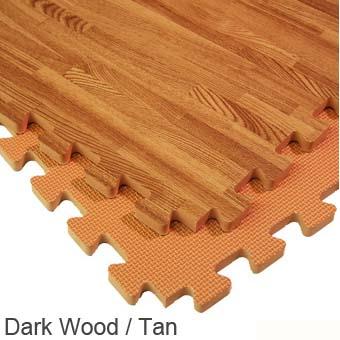 Interlocking floor tiles interlocking foam tiles for Cork flooring wood grain look