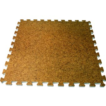 Foam Interlocking Tiles Cork