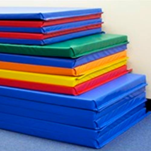 large aerobics pu mats stretching gym leather tumbling gymnastics pad foam new exercise folding mat thick panel gymnastic fitness product
