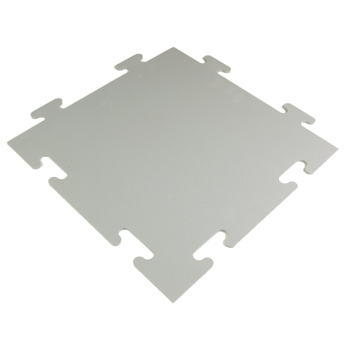 Protect All Interlocking Floor one tile Grays.