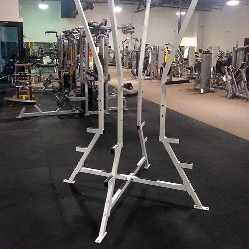 Gym rubber floor mat ft inch black rubber gym mats