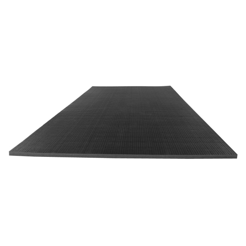 Gmats Roll Out Mats 5x10 Ft x 1.25 Inch rolled out black.