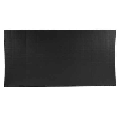 Gmats Roll Out Mats 5x10 Ft x 1.25 Inch full black.