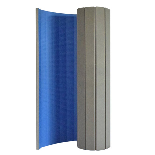 Gmats Roll Out Mats 5x10 Ft x 1.25 Inch blue upright.