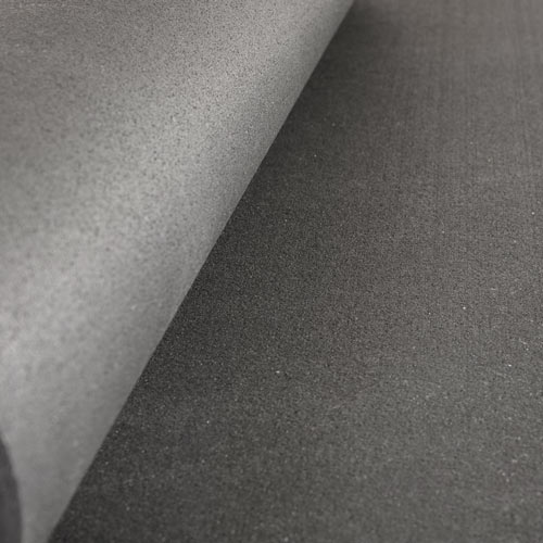 Roll Out Flooring >> Black Home Rubber Flooring - 4x10 ft x 1/4 inch, Home ...