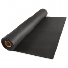 Rubber Flooring Rolls 1/4 Inch 4x10 Ft Black