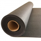 Rubber Flooring Rolls 3/8 Inch 25 Ft Black Stocked thumbnail