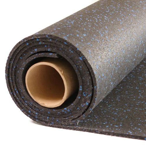 Home Rubber Flooring Roll 4x10 Ft X 14 Inch