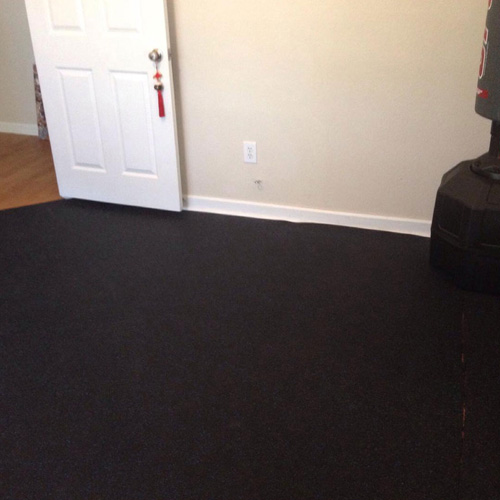 Home Rubber Flooring Roll 4x10 Ft X 1 4 Inch Home