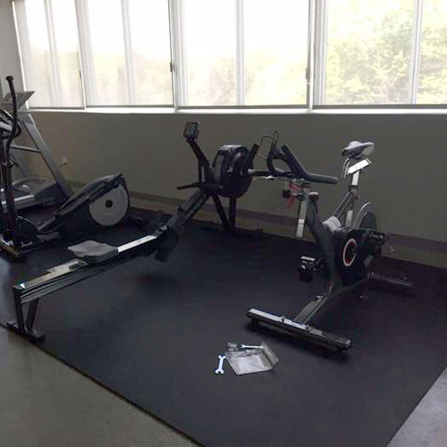 Gym Equipment Mats For Treadmills And