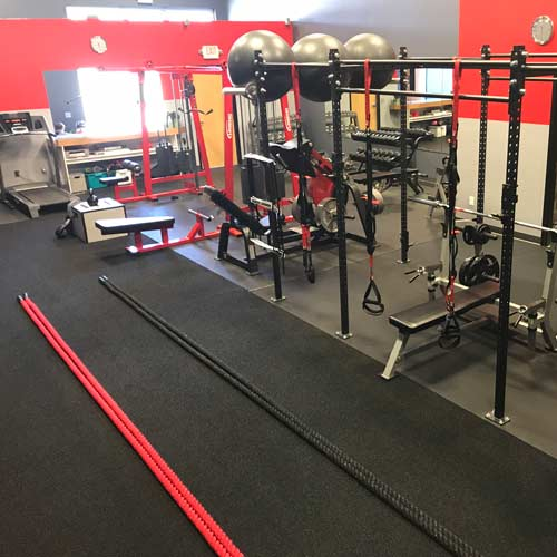 Inexpensive Gym Flooring Rubber