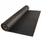 Rubber Flooring Rolls 8 mm 50 Ft Black Stocked