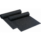 Rolled Rubber 1/4 Inch Black Cascade