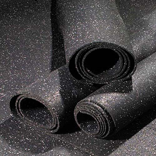 Rubber flooring rolls 1 2 inch 10 color weight room gym for Rubber flooring