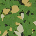 Rubber Flooring Tiles Nuclear 3/8 Inch green swatch.