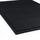 4x6 Ft x 1/2 Inch Gym Rubber Floor Mats Black