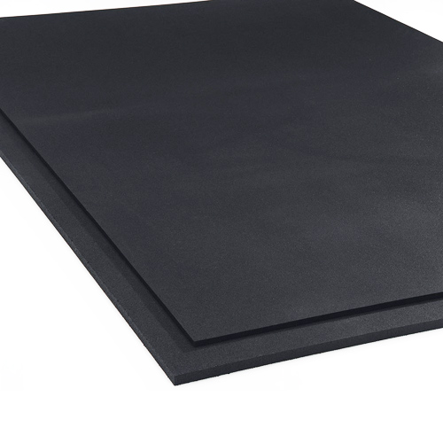 Rubber Gym Floor Mat 4x6 Ft 1 2 Inch Economy Rubber Mat