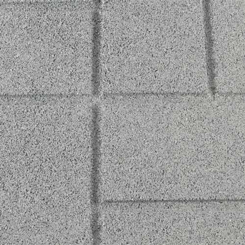 Rubber Patio Paver Tile Close Up.
