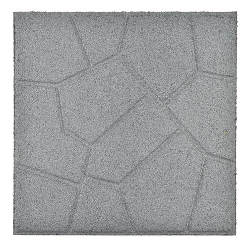 Rubber Patio Paver Tile full reverse. - Rubber Paver Tiles - Rubber Patio Tile For Outdoor